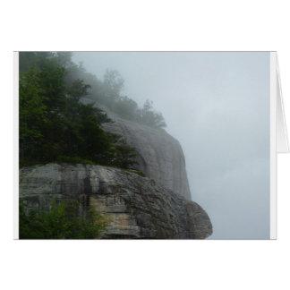 Blue Ridge Mountain Fog Card
