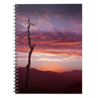 Blue Ridge Mountains at Dawn Note Books