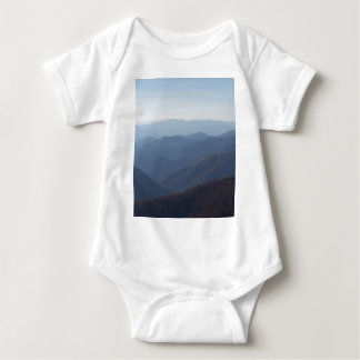 blue ridge mountains baby bodysuit