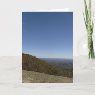 Blue mountains cards zazzle au blue ridge mountains blank greeting card m4hsunfo