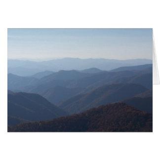 blue ridge mountains card