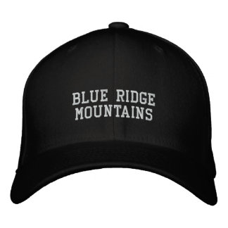Blue Ridge Mountains Embroidered Hat