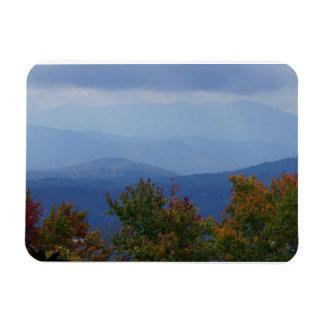 Blue Ridge Mountains in Fall Rectangular Photo Magnet
