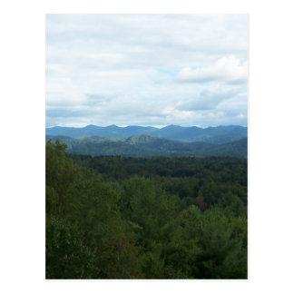 Blue Ridge Mountains - NC Postcard