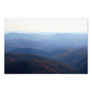 Blue Ridge Mountains, North Carolina Photograph