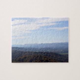 Blue Ridge Mountains Puzzle