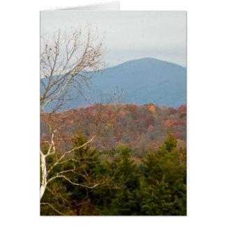 Blue Ridge Mountains VA Landscape Photo Shenandoah Card