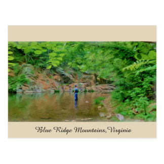 Blue Ridge Mountains,Virginia Postcard
