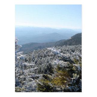 Blue Ridge Mountains Winter Postcard