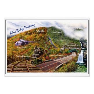 Blue Ridge Parkway Collage Photo Print