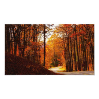 Blue Ridge Parkway Fall Photo Print