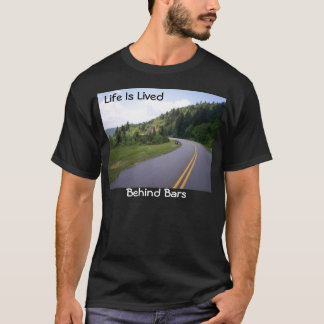 Blue Ridge Parkway Motorcycle Pulled Over T-Shirt