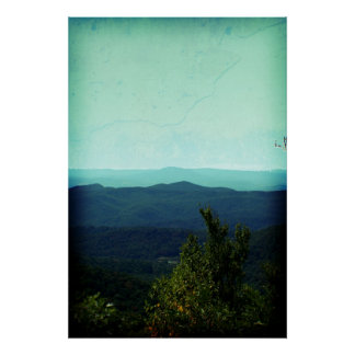 Blue Ridge Poster