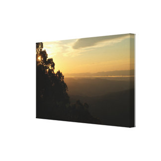 Blue Ridge Sunrise Canvas Print