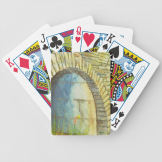 Blue Ridge Tunnel Bicycle Playing Cards