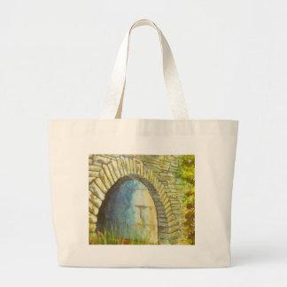 Blue Ridge Tunnel Large Tote Bag