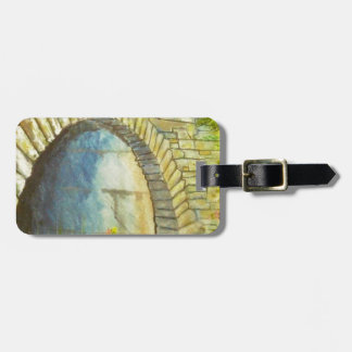 Blue Ridge Tunnel Luggage Tag