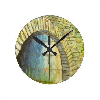 Blue Ridge Tunnel Round Clock
