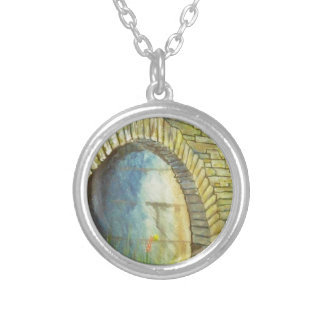 Blue Ridge Tunnel Silver Plated Necklace