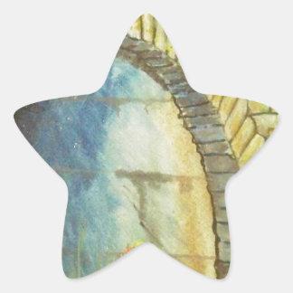 Blue Ridge Tunnel Star Sticker