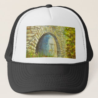 Blue Ridge Tunnel Trucker Hat