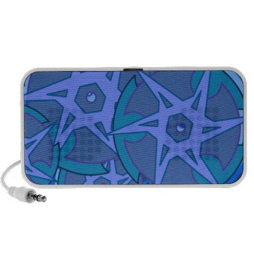 Blue Rims iPhone Speaker