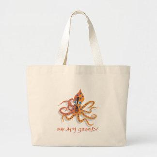Blue Ring Octopus Bag