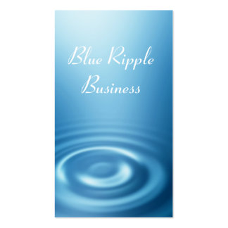 Blue Ripple Business Card