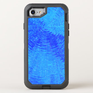 Blue Ripples OtterBox Defender iPhone 7 Case