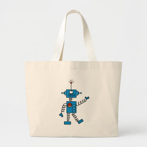 Blue Robot Bags