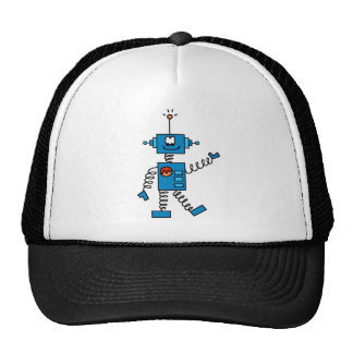 Blue Robot Tshirts and Gifts Trucker Hats