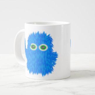 Blue Rock N Roll Monster Jumbo Mug