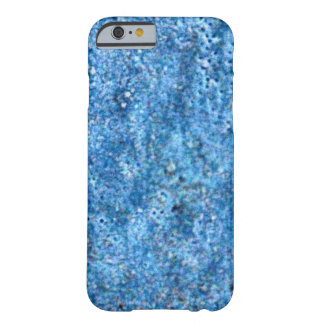 Blue Rock Texture Casing Barely There iPhone 6 Case