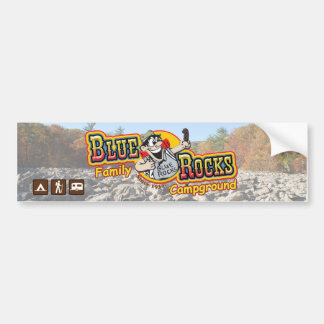 Blue Rocks Bumper Sticker