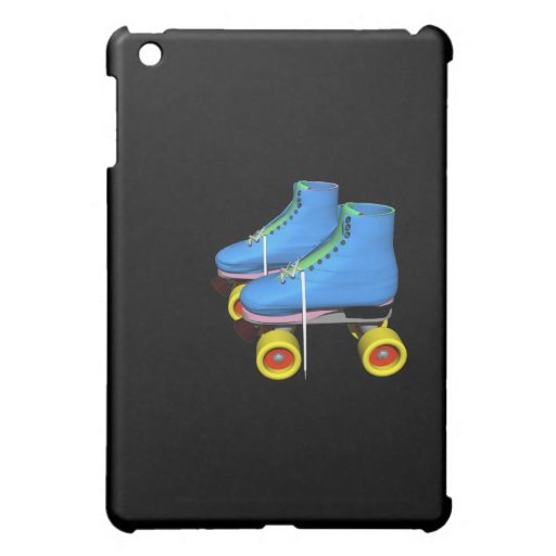 Blue Roller Skates iPad Mini Cover