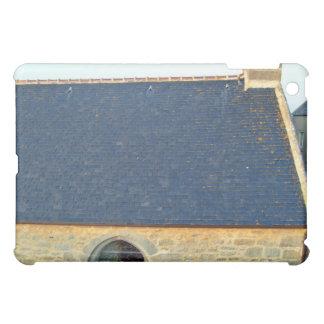 Blue Roof Tiles Of Vintage Stone House Against Blu iPad Mini Case