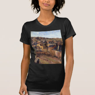 Blue roofs of Rouen by Paul Gauguin T-Shirt
