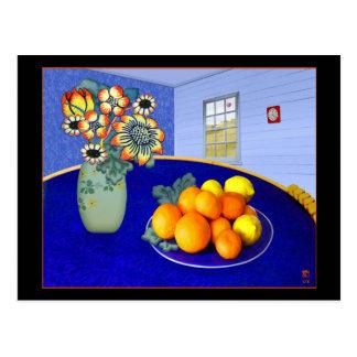 Blue Room # 1 Postcard