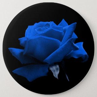 Blue Rose 6 Cm Round Badge