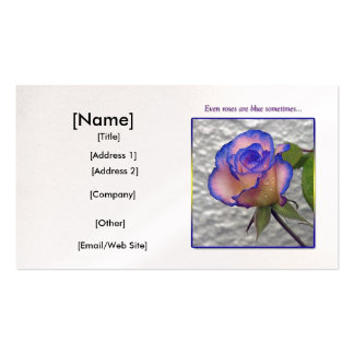 Blue Rose Business Card