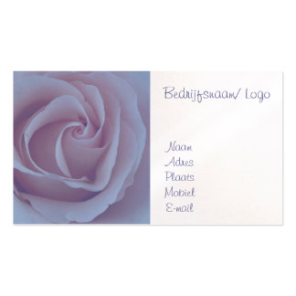 Blue Rose visiting card Business Cards