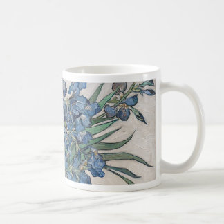 Blue roses coffee mug