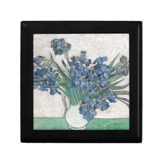 Blue roses gift box
