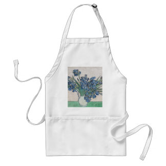 Blue roses standard apron