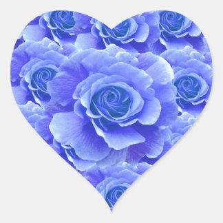 Blue Roses Sticker