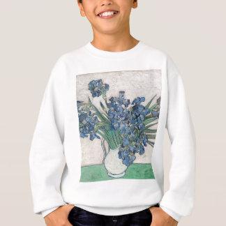 Blue roses sweatshirt