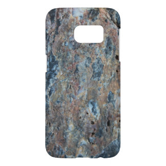 Blue Rust Black Mineral Texture