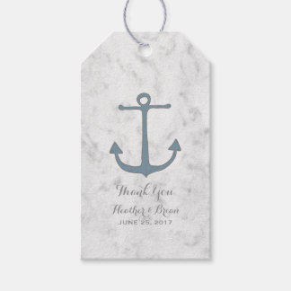 Blue Rustic Anchor Wedding