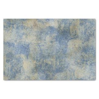 Blue Rustic Texture Tissue Paper