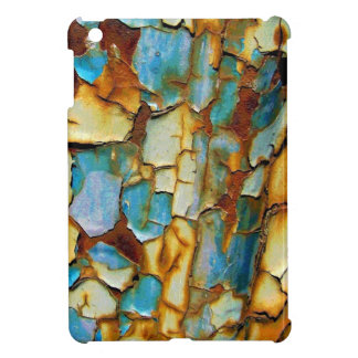 Blue Rusty Chipping Paint iPad Mini Case